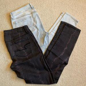 8 Long American eagle jeans bundle